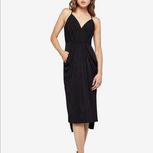 Black Velvet Black Dress